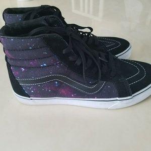 5e1b4def7c Vans Shoes - Rare! Vans sk8 hi cosmic space galaxy shoe Mens 8